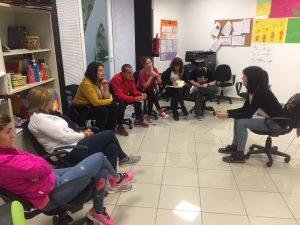 Alumnos de cursos de formación