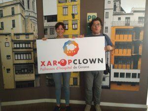 Celebrando los diez años de Xaropclown como payaso de hospital profesional
