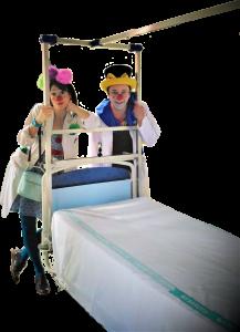 Patrocinar payasos hospital