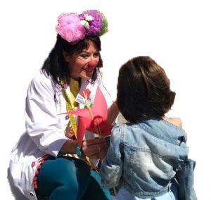 donaciones clownrisas payaso hospital
