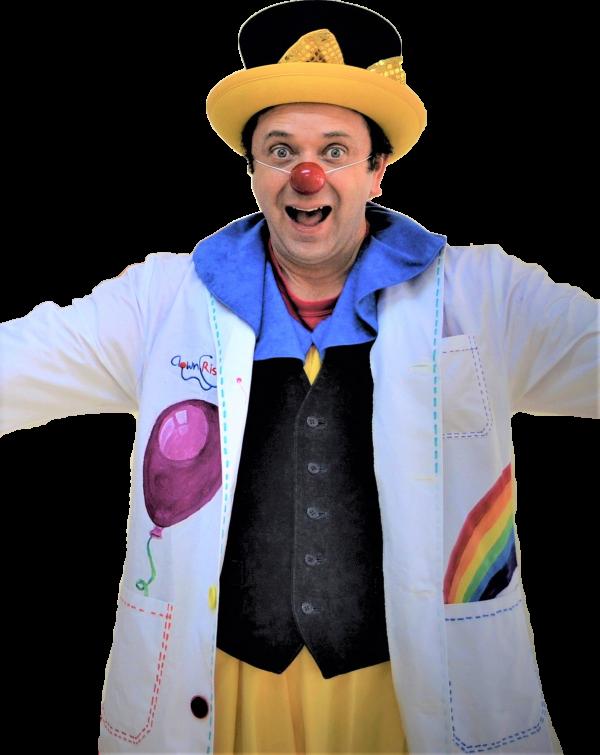 Davizóteles es un doctor Clownrisas