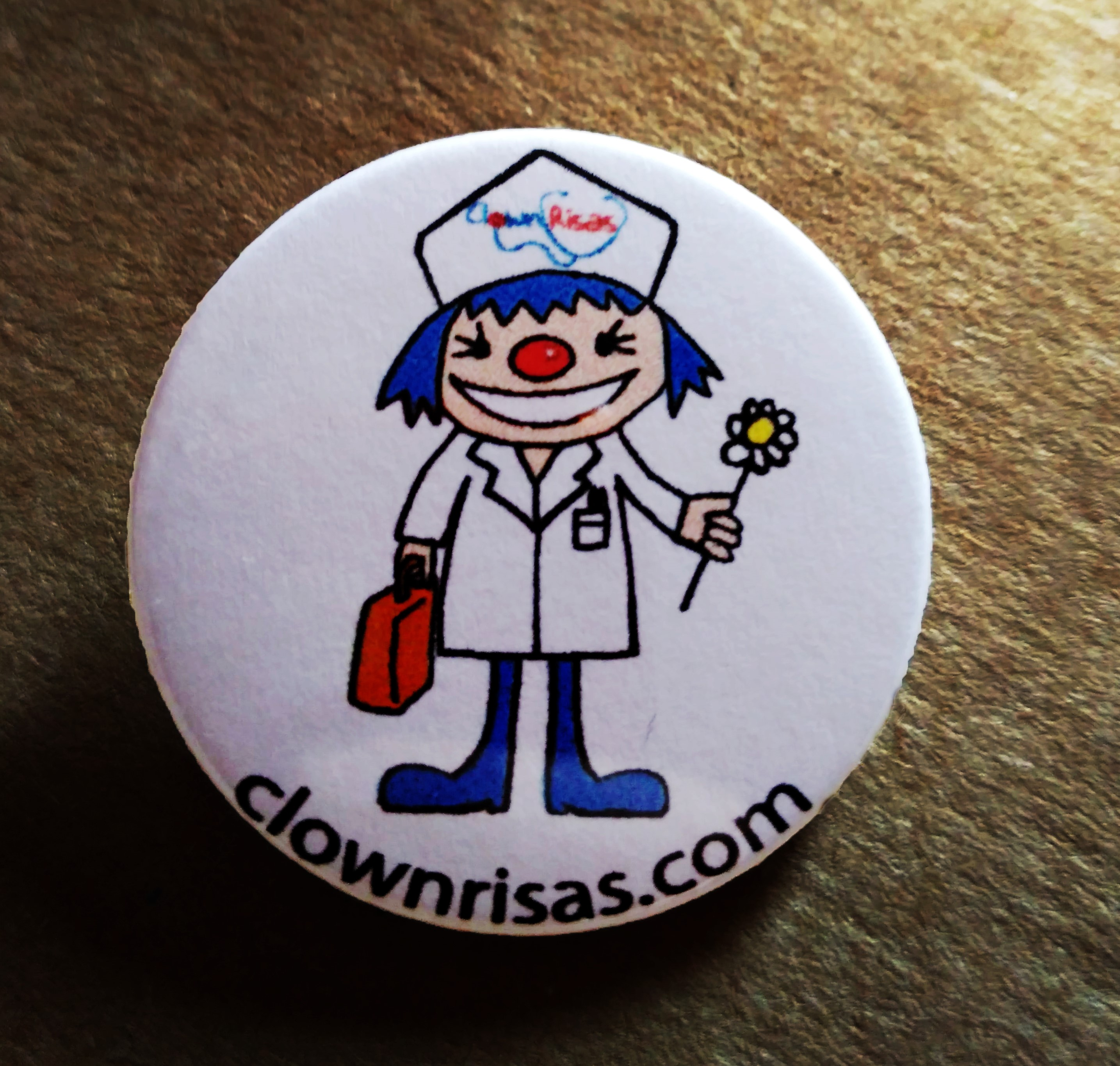 chapa solidaria clownrisas payasa hospital